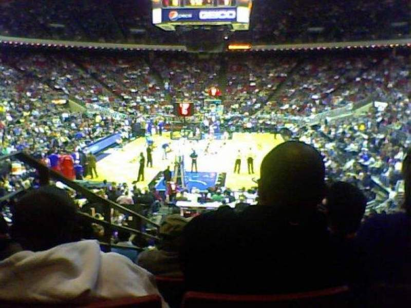 Seating view for Amway Arena Section 118 Row P Seat 10
