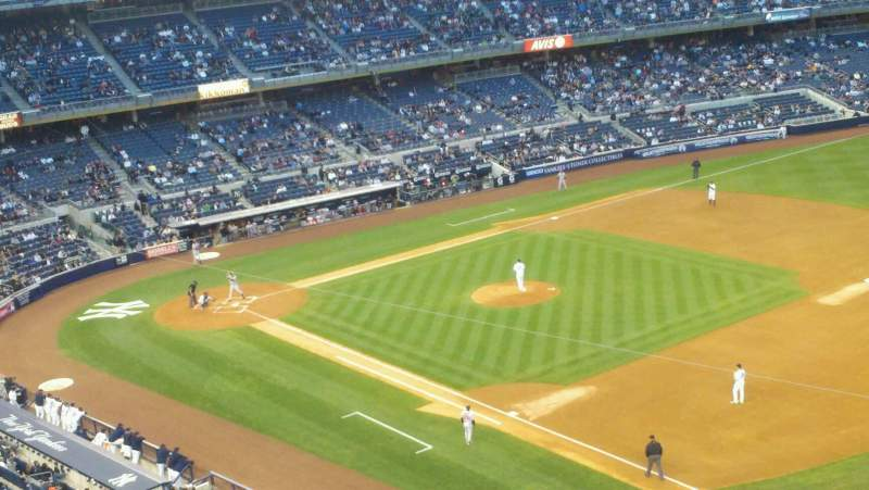 Seating view for Yankee Stadium Section 312 Row 1 Seat 1