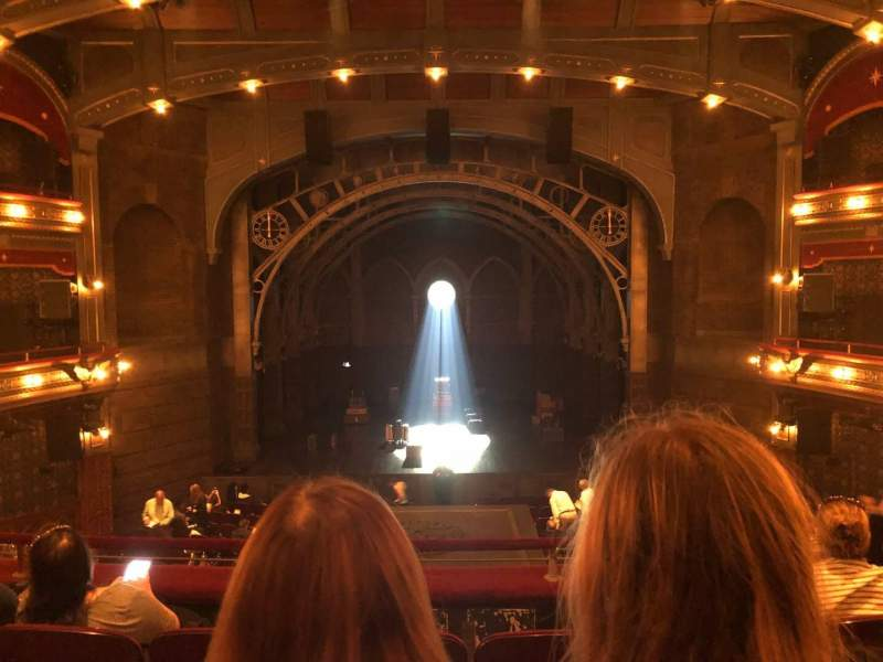 Seating view for Lyric Theatre Section Dress Circle C Row D Seat 114