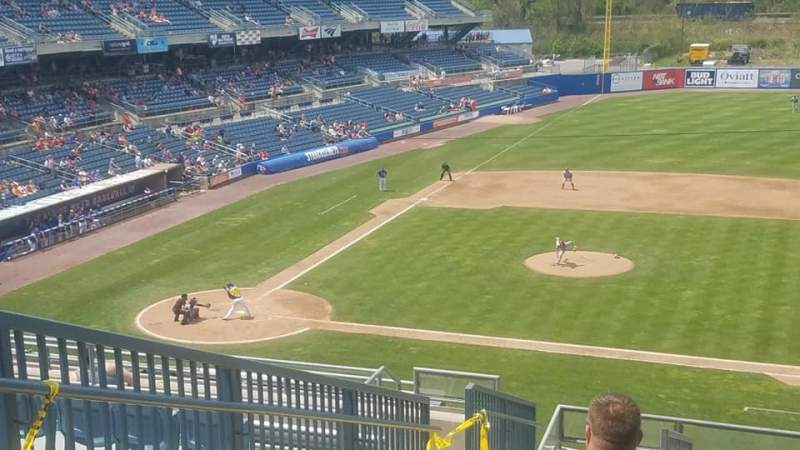 Nbt Bank Stadium Section 301 Row 14 Seat 23 Syracuse Mets Vs Columbus Clippers Shared By Krishendo97