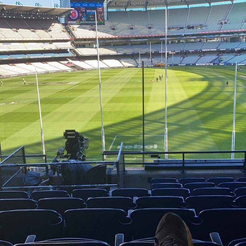 Seating view for Melbourne Cricket Ground Section N3 Row H