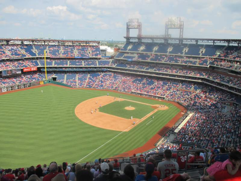 Seating view for Citizens Bank Park Section 432 Row 16