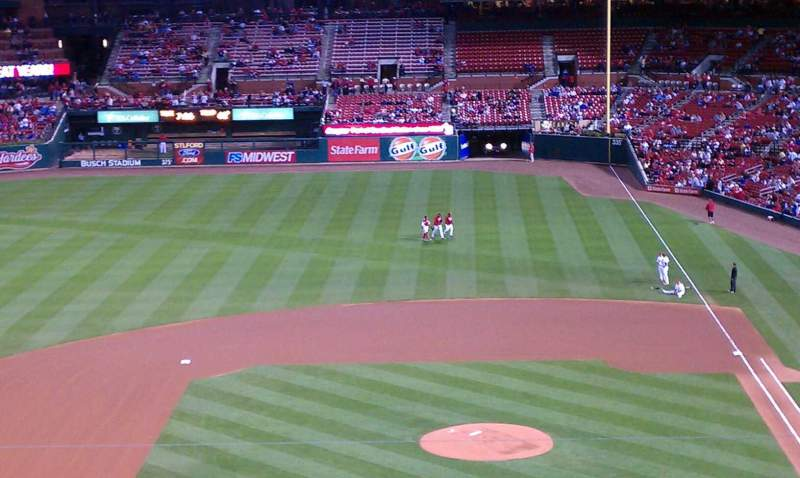 Seating view for Busch Stadium Section 255 Row 255 Seat 10