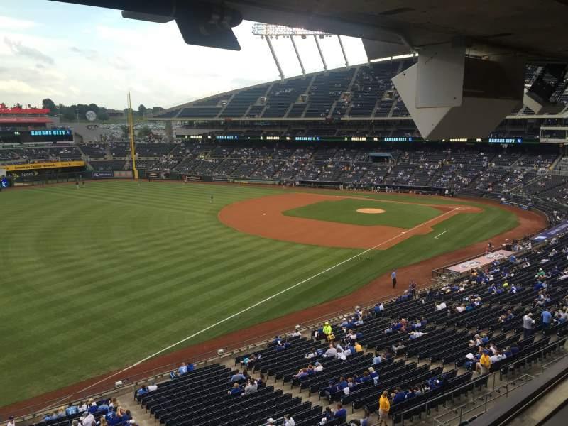 Kauffman Stadium, section: 310