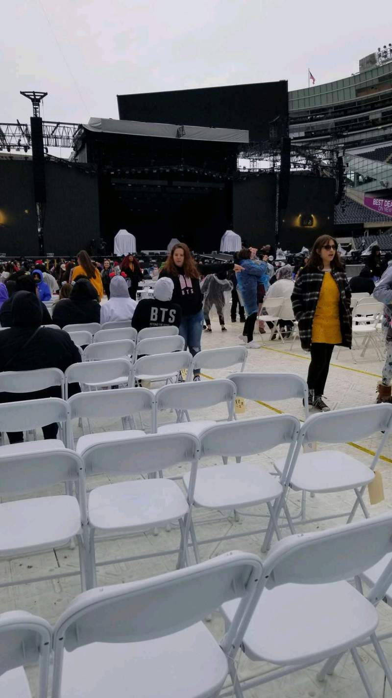 Seating view for Soldier Field Section B5 Row 34 Seat 6