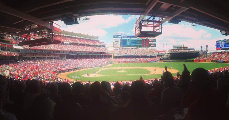 Seating view for Great American Ball Park Section 128 Row NN Seat 4