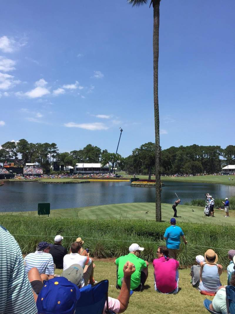 Seating view for TPC at Sawgrass Section 17th Hole