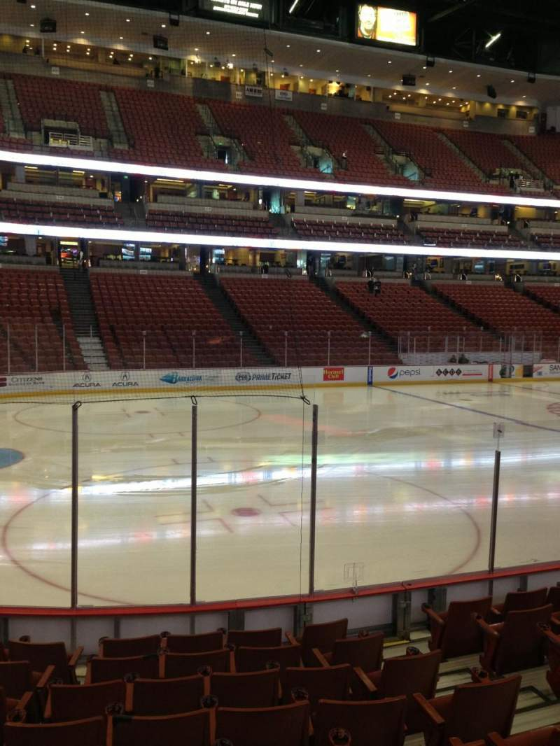 Seating view for Honda Center Section 211 Row J Seat 5