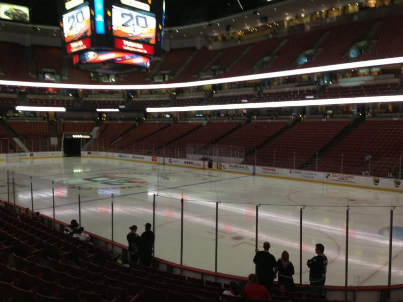 Seating view for Honda Center Section 204 Row N Seat 8