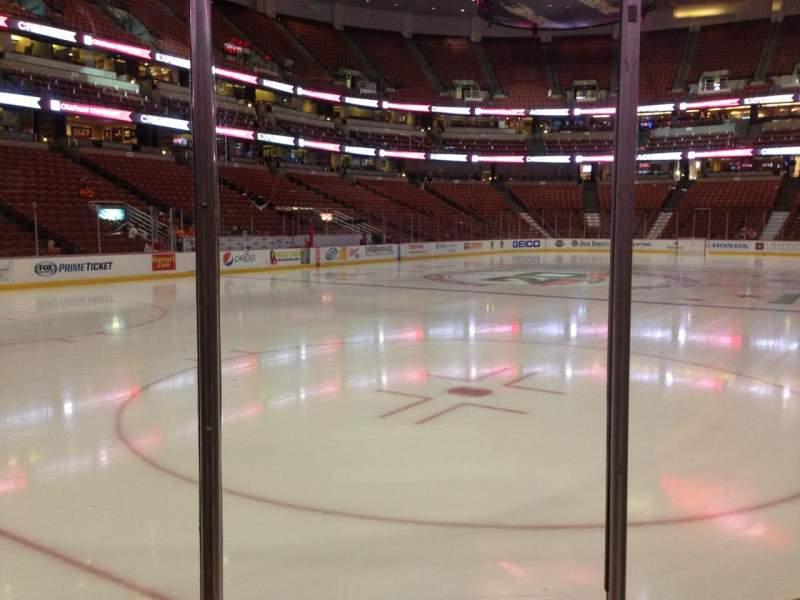 Seating view for Honda Center Section 227 Row C Seat 1