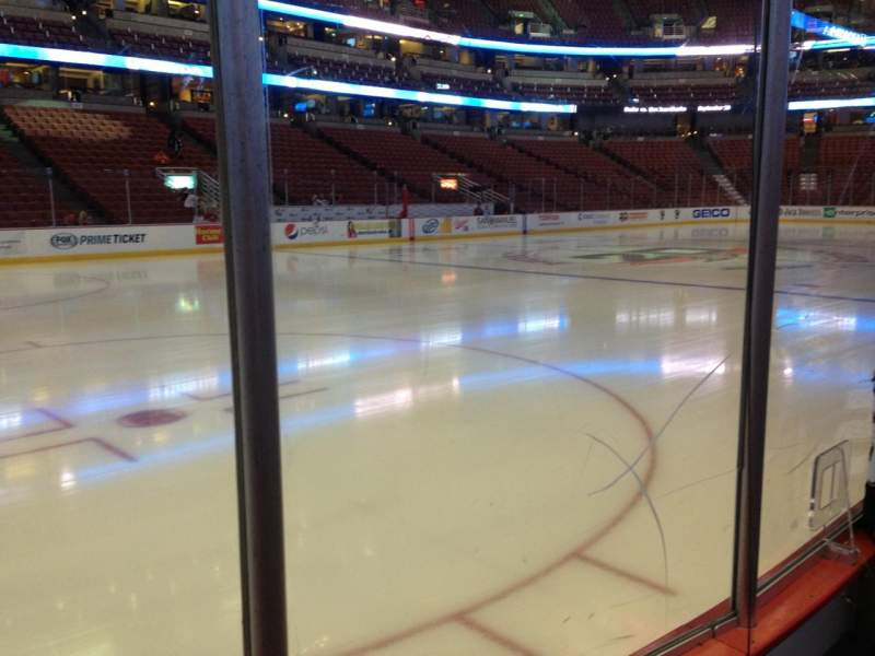 Seating view for Honda Center Section 225 Row B Seat 4