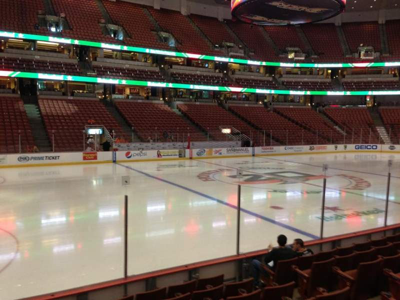 Seating view for Honda Center Section 224 Row H Seat 7
