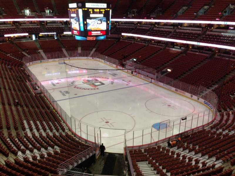 Seating view for Honda Center Section 426 Row C Seat 6
