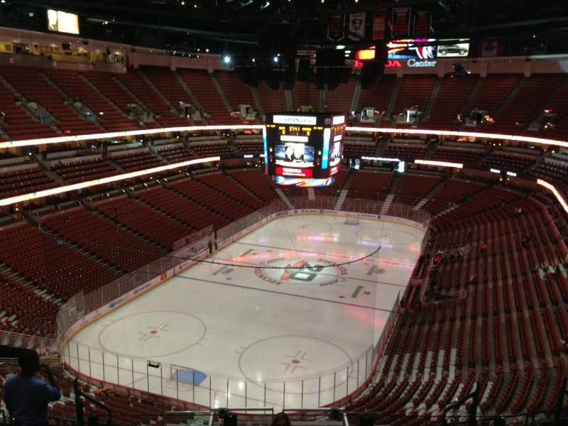 Seating view for Honda Center Section 420 Row L Seat  7