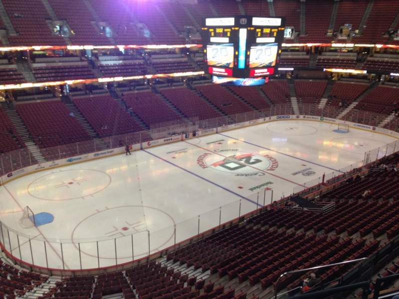 Seating view for Honda Center Section 416