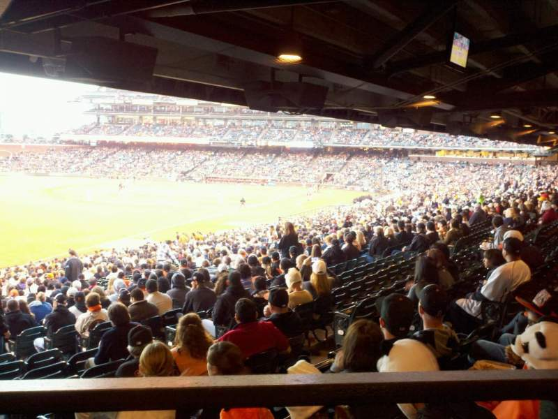 AT&T Park, section: 133, row: 39, seat: 7