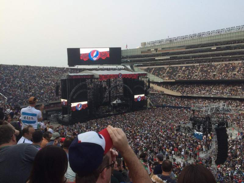 Seating view for Soldier Field Section 334 Row 10 Seat 1