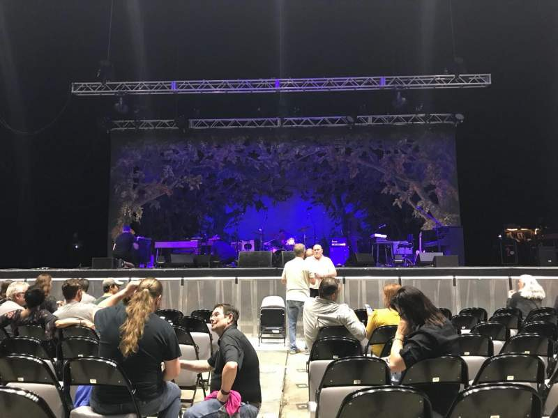 Seating view for The Pavilion at Toyota Music Factory Section 101 Row J Seat 17