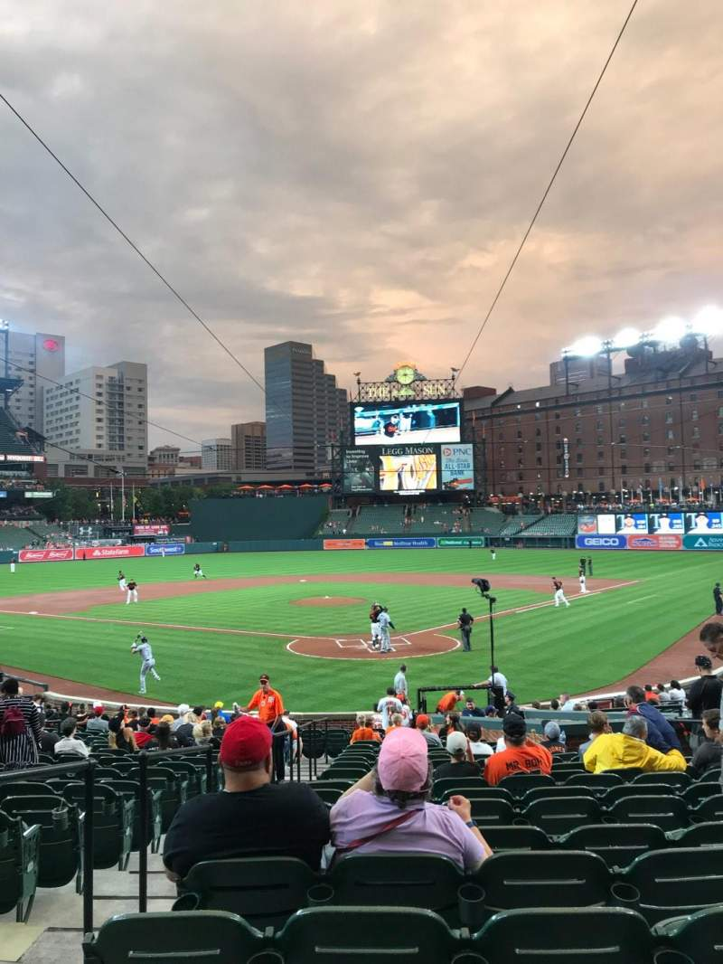 Oriole Park at Camden Yards, section: 38, row: 24, seat: 9