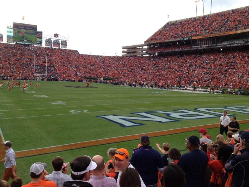 Seating view for Jordan-Hare Stadium Section 38 Row 9 Seat 6