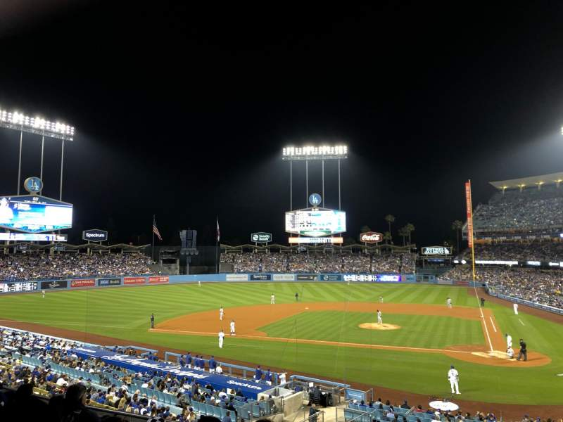 Seating view for Dodger Stadium Section 119LG Row F Seat 6
