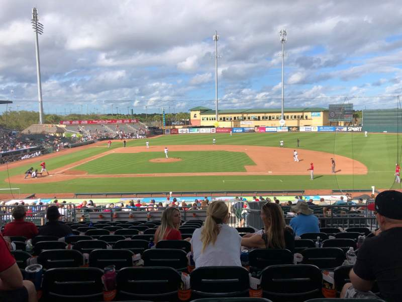Seating view for Roger Dean Chevrolet Stadium Section 203 Row 12 Seat 11
