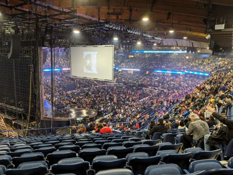 Seating view for Allstate Arena Section 205 Row P Seat 25