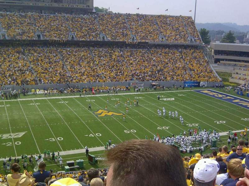 Mountaineer Field, section: 204