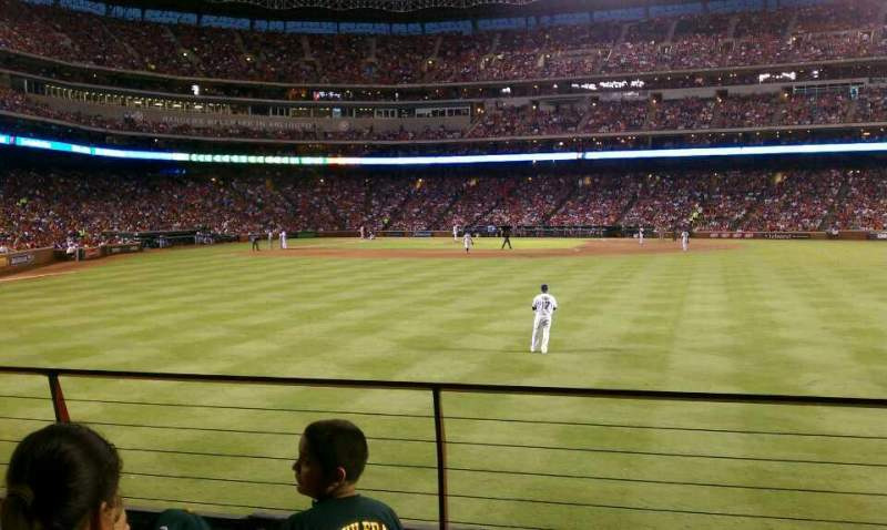 Seating view for Globe Life Park in Arlington Section 47 Row 4 Seat 4