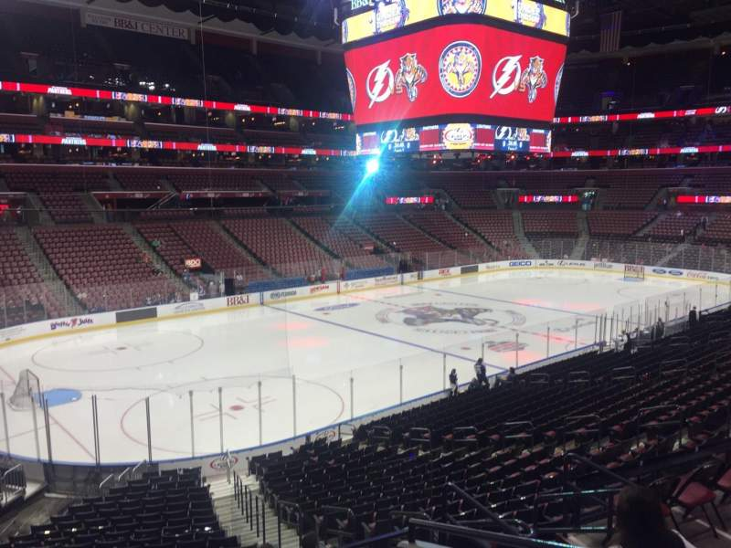 Seating view for BB&T Center Section 122 Row 23 Seat 5