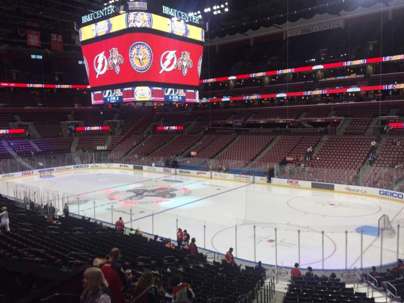 Seating view for BB&T Center Section 114 Row 23 Seat 16