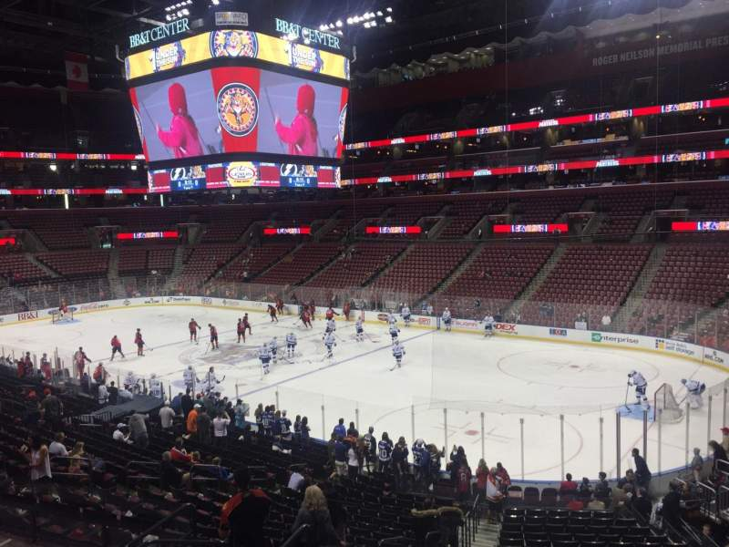 Seating view for BB&T Center Section 131 Row 24 Seat 1