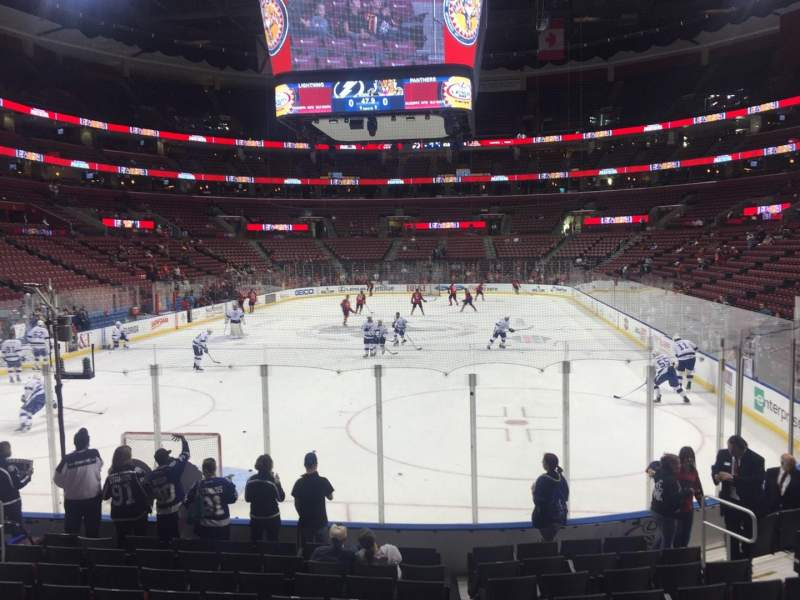 Seating view for BB&T Center Section 125 Row 11 Seat 11