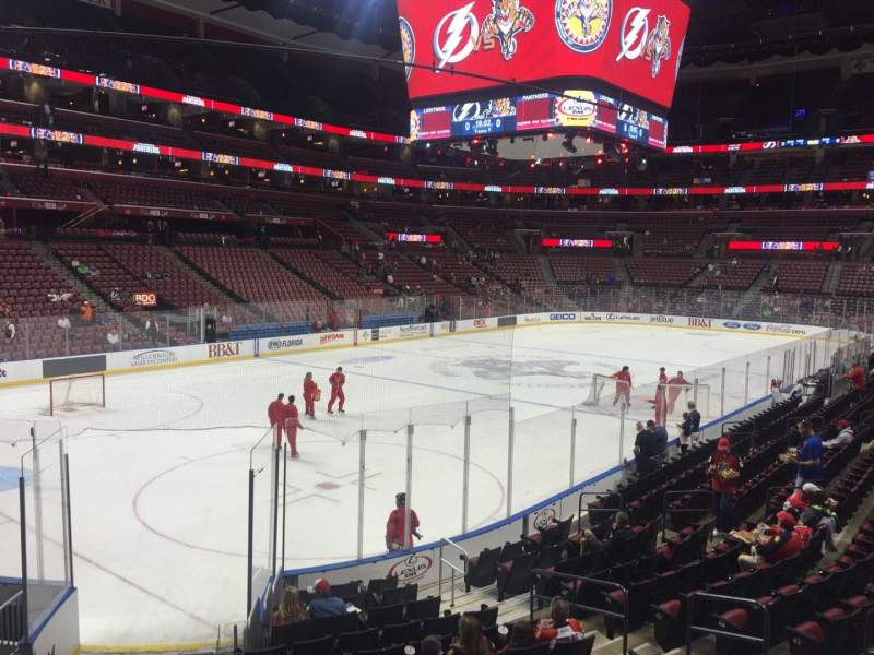 BB&T Center, section: 123, row: 14, seat: 2