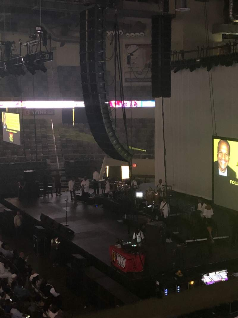 Seating view for Indiana Farmers Coliseum Section 322 Row A Seat 14