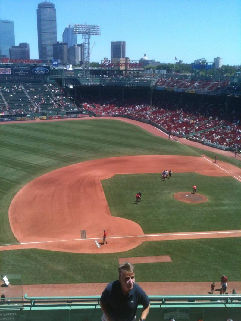 Seating view for Fenway Park Section 8 Row A Seat 14