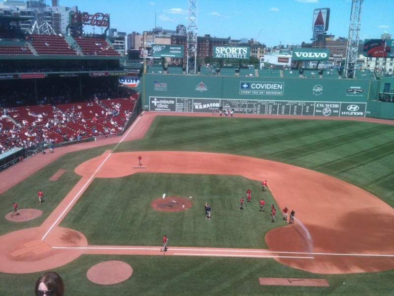 Seating view for Fenway Park Section Pavilion 5 Row 4 Seat 16