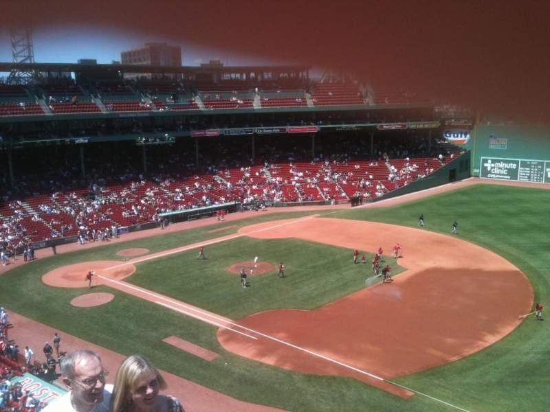 Seating view for Fenway Park Section Pavilion 13 Row 4 Seat 20