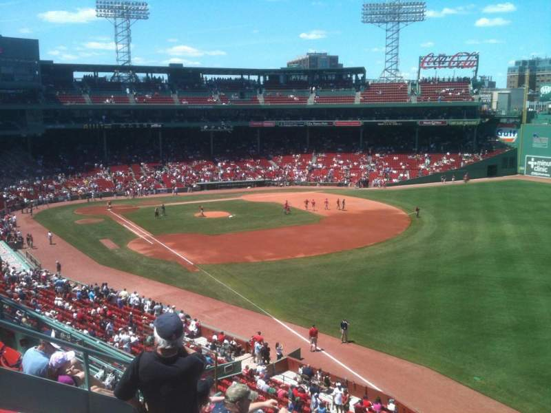 Fenway Park, section: Right Field Roof Deck Box 29, row: E, seat: 8