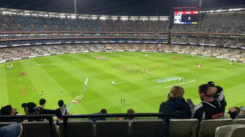 Seating view for Melbourne Cricket Ground Section Q52 Row C Seat 19