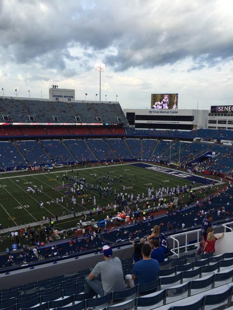Seating view for New Era Field Section 336 Row 14 Seat 15