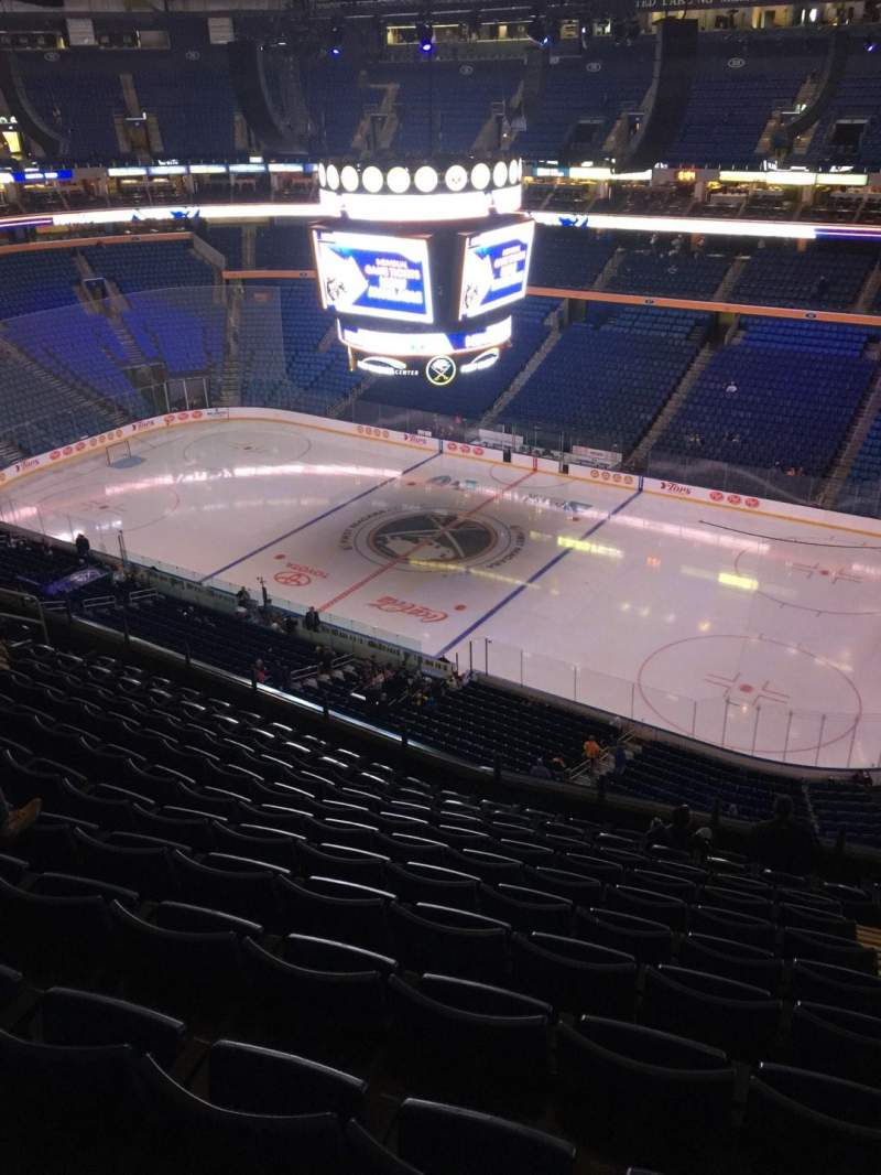 Seating view for KeyBank Center Section 304 Row 12 Seat 5