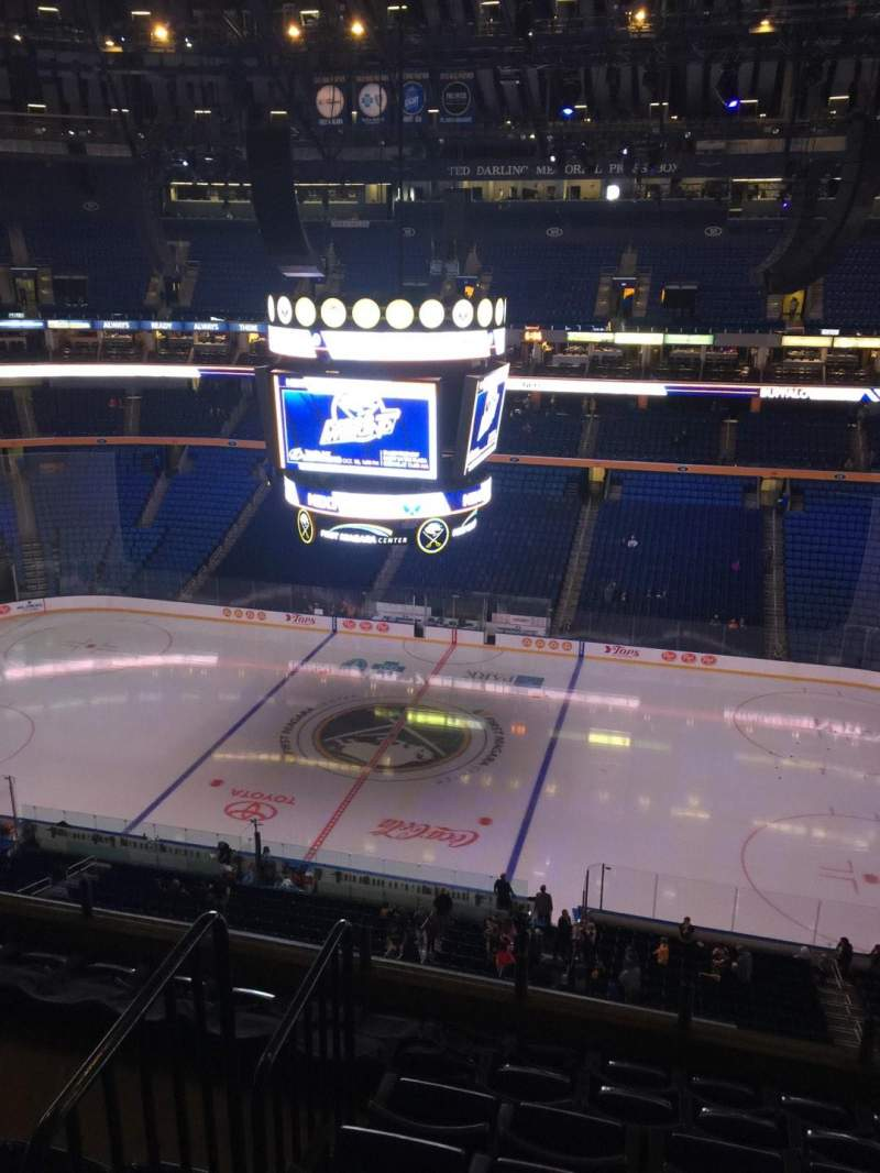 Seating view for KeyBank Center Section 305 Row 7 Seat 9