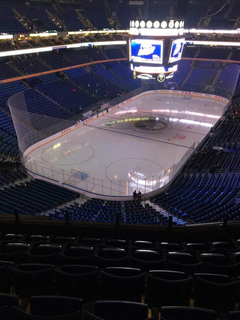 Seating view for KeyBank Center Section 311 Row 6 Seat 8