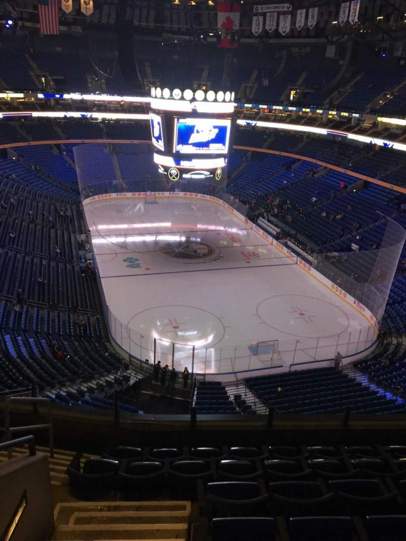 Seating view for KeyBank Center Section 314 Row 7 Seat 16