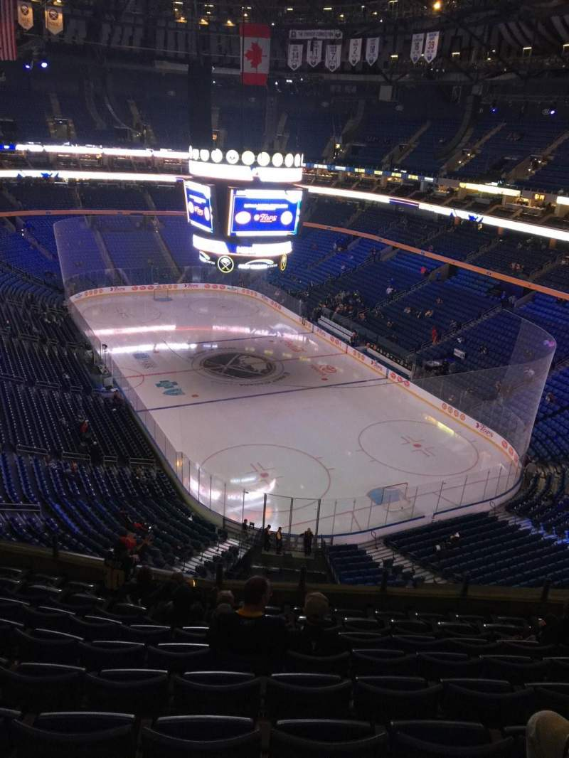 Seating view for KeyBank Center Section 315 Row 9 Seat 11