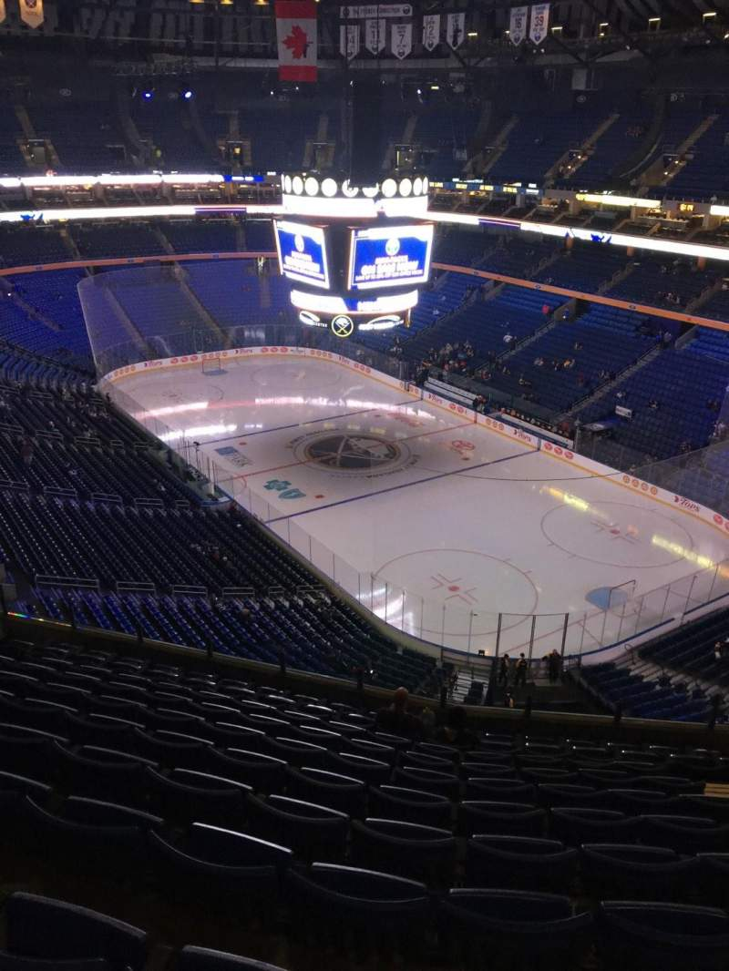 Seating view for KeyBank Center Section 316 Row 11 Seat 8