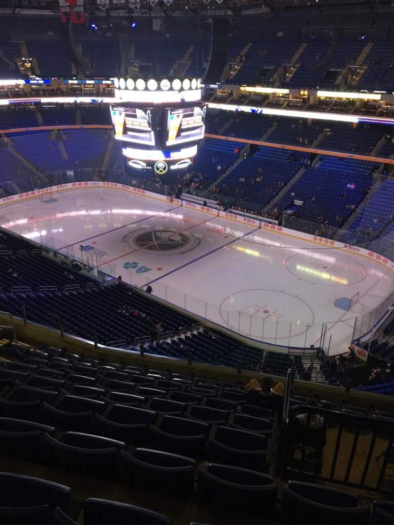 Seating view for KeyBank Center Section 317 Row 10 Seat 10