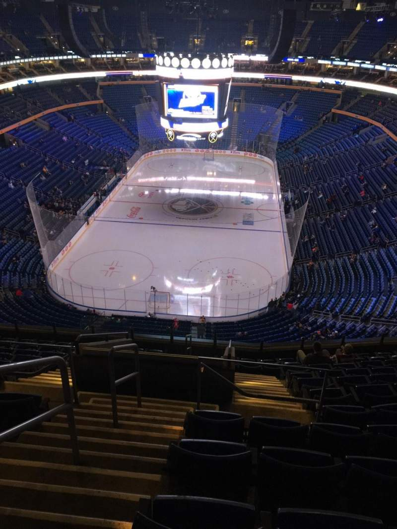 Seating view for KeyBank Center Section 326 Row 12 Seat 26
