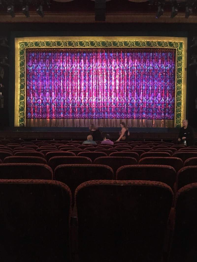 Seating view for Citizens Bank Opera House Section ORCCTR Row J Seat 107